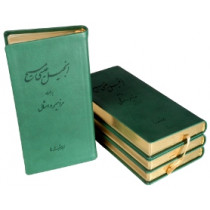 New Testament with Psalms and Proverbs. Millennium Edition. Pocket size. Gilded with marker. Green.